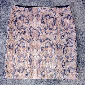 Carmen by Carmen Marc Volvo - sequin snake skirt
